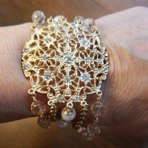 WHBM Gold bracelet